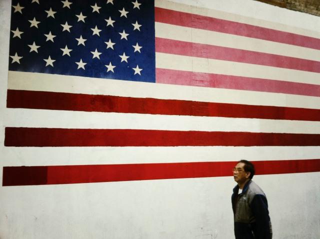 USA in the SFO Chinatown